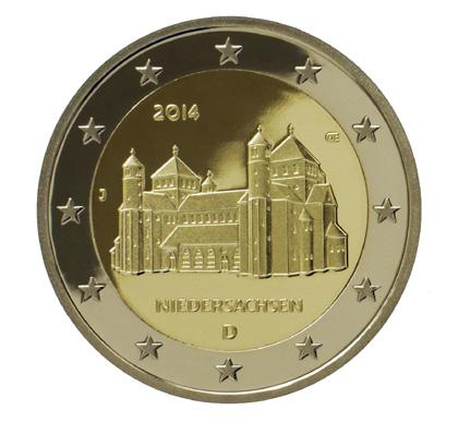 2 Euro Münzen Niedersachsen