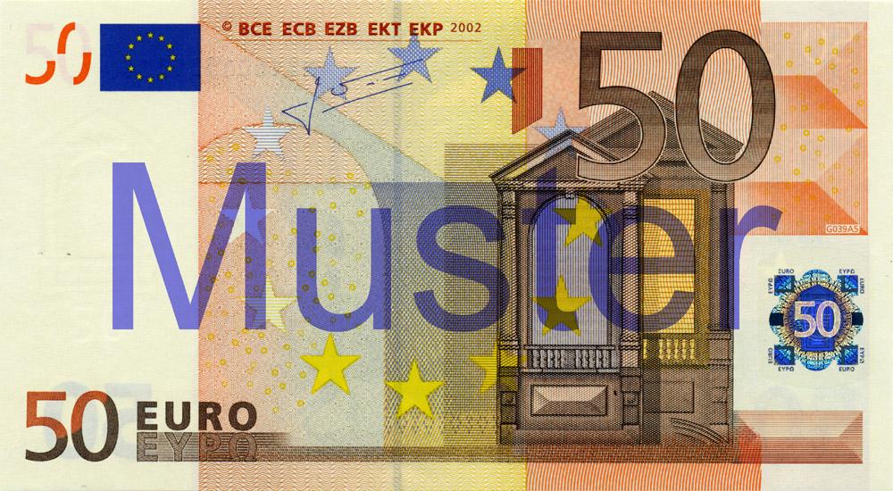 50 Euro Deutsche Bundesbank