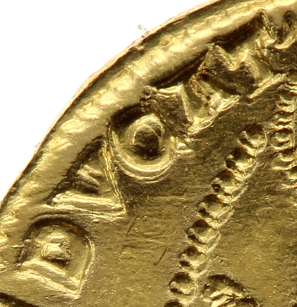The ducat of Venice - Inscription on the reverse side