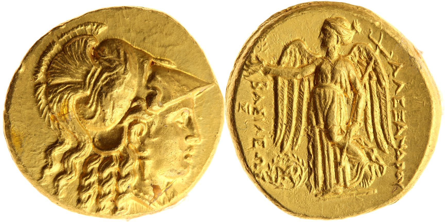 A gold stater of Seleucus