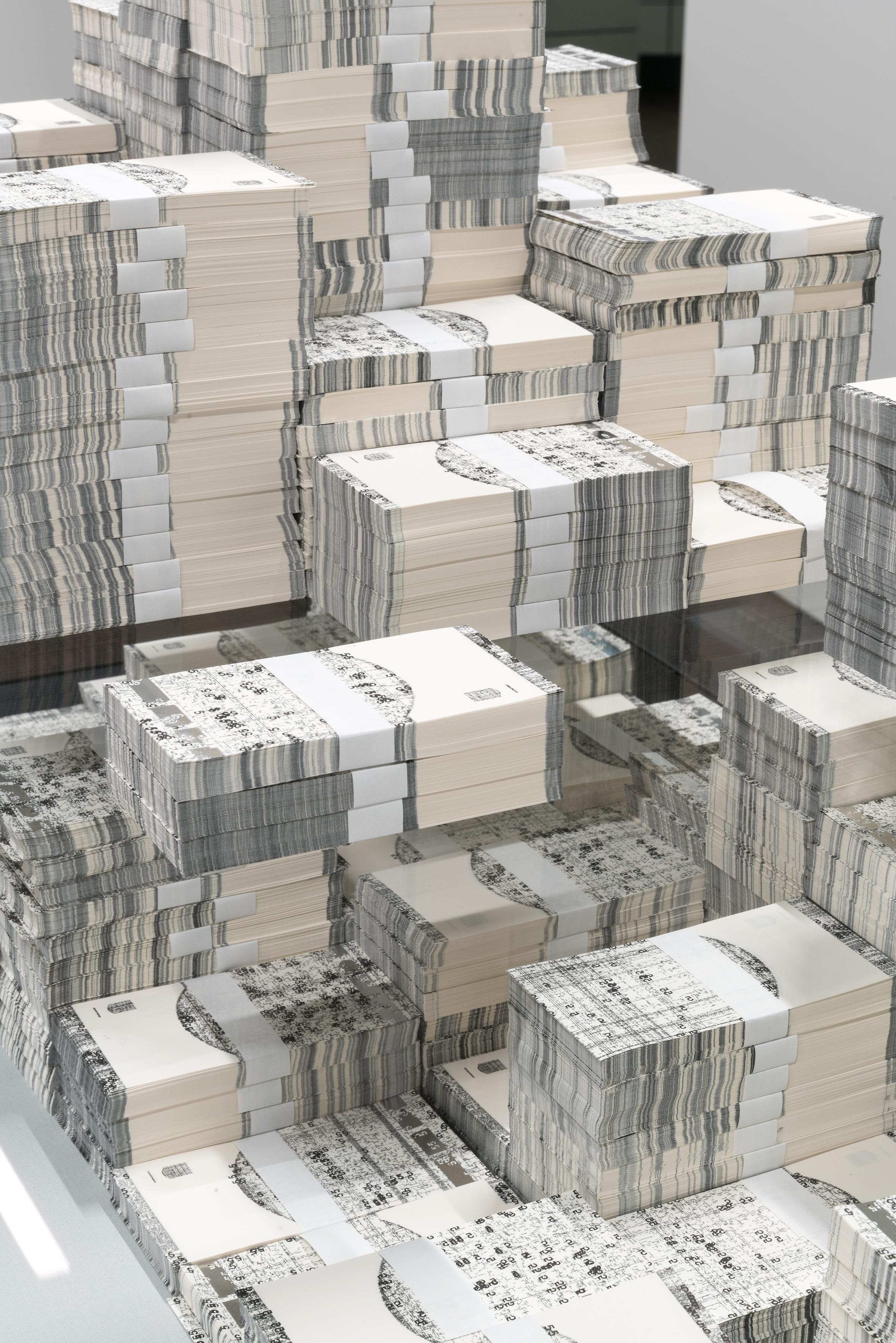 Künstler Michael Riedel Wird Zum Geldmacher Bei Der Bundesbank