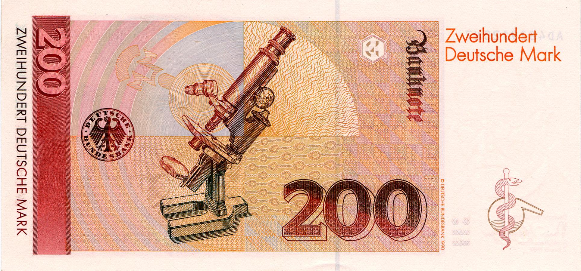 Dm Banknoten Deutsche Bundesbank
