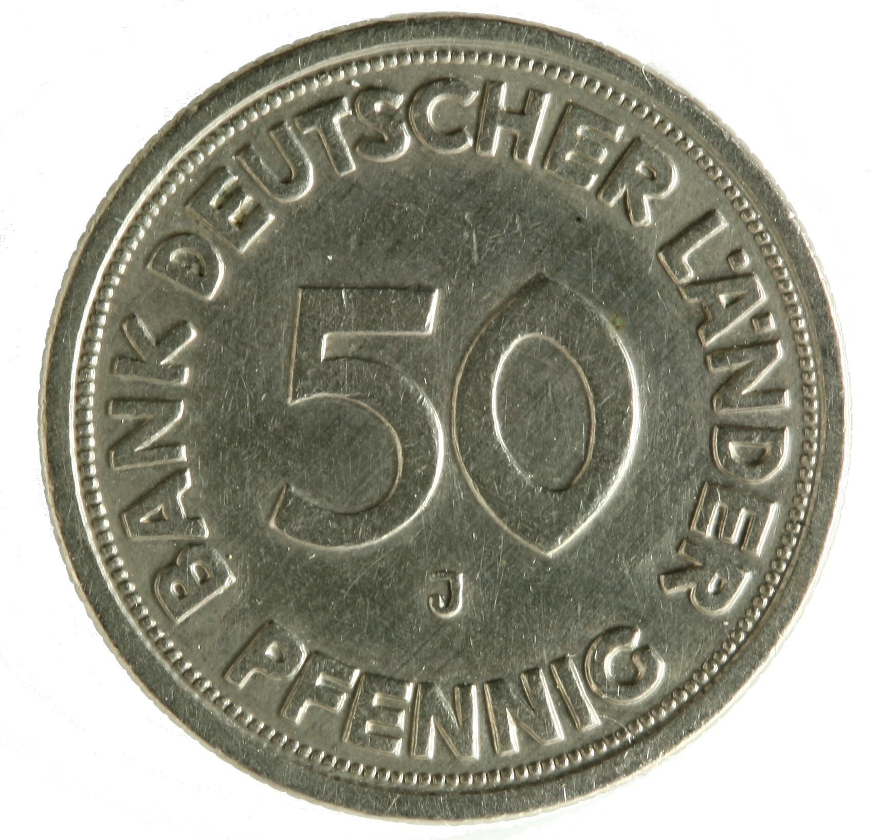 Münzen Bank Deutscher Länder 19481949 Deutsche Bundesbank
