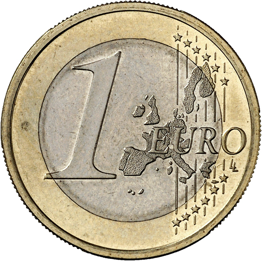 1 euro coin up to the end of 2006