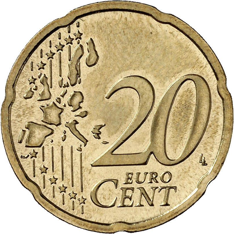 20 cent coin up to the end of 2006