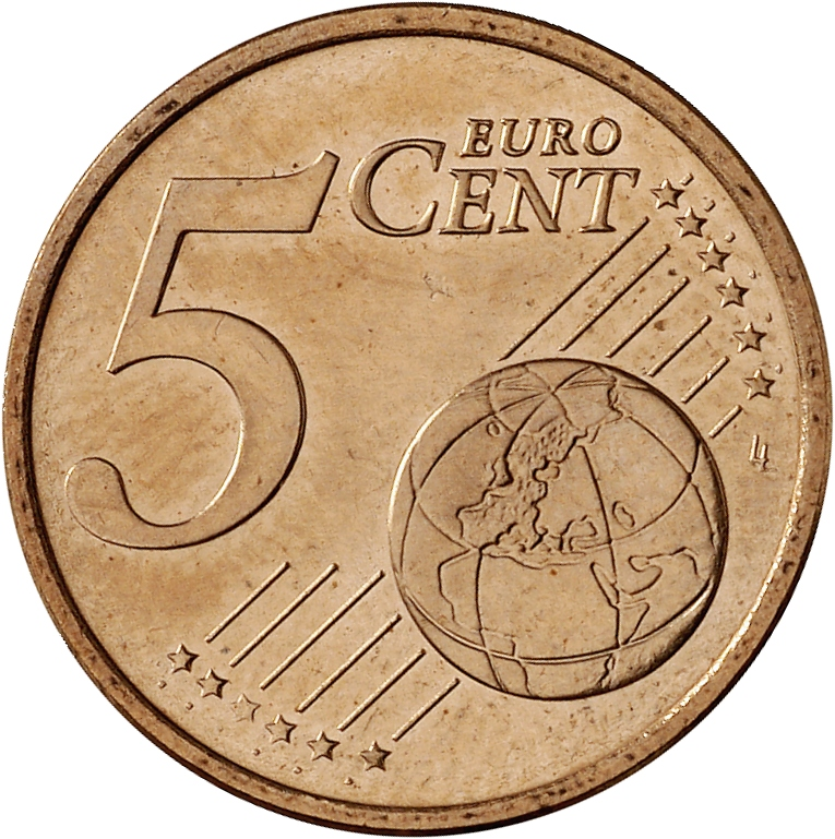 5 cent coin