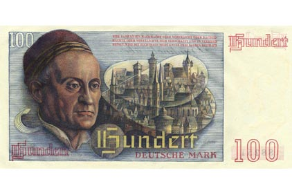 100 Deutsche Mark (1948) - reverse