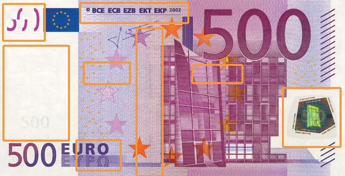 Falschgelderkennung Deutsche Bundesbank