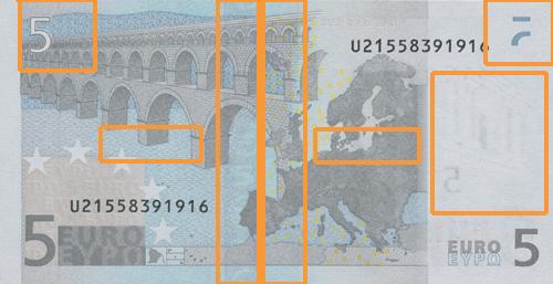 5 Euro 1 Serie Deutsche Bundesbank