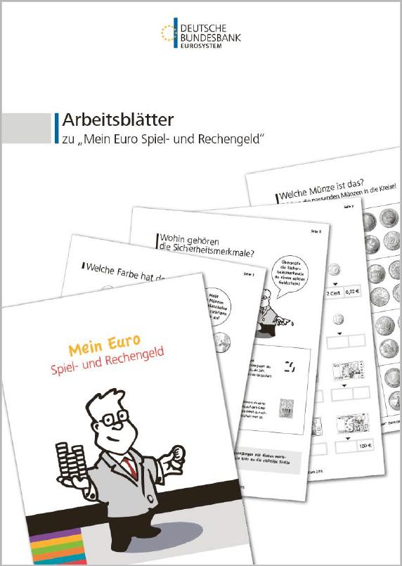 Arbeitsblätter Zu Mein Euro Spiel Und Rechengeld Deutsche