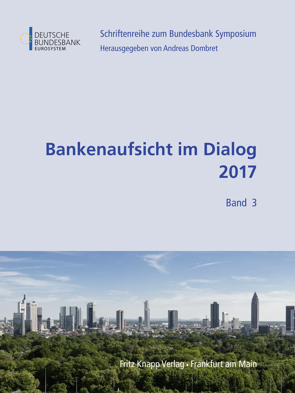 Cover des Buches Bankenaufsicht im Dialog 2017