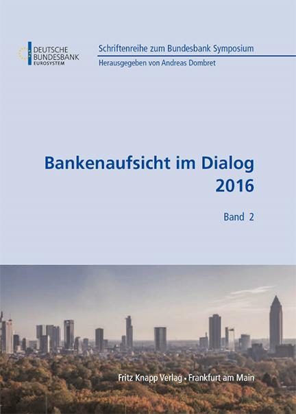 Cover des Buches Bankenaufsicht im Dialog 2016