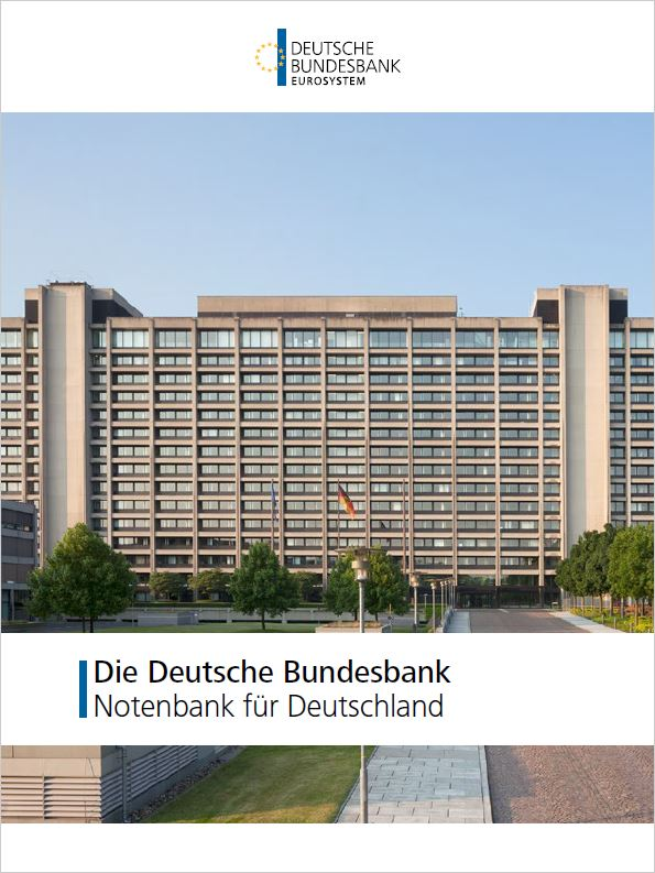 Cover der Publikation: Die Deutsche Bundesbank