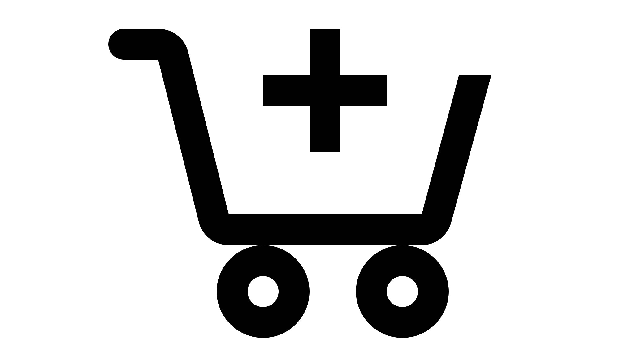 Icon with shopping cart