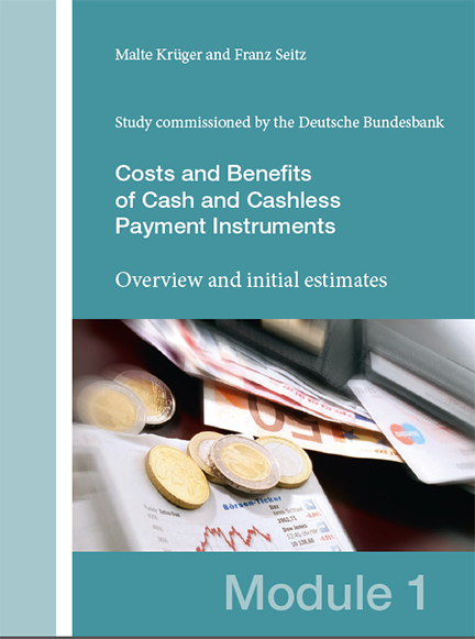 Cover: Costs and Benefits of cash and cashless payment instruments