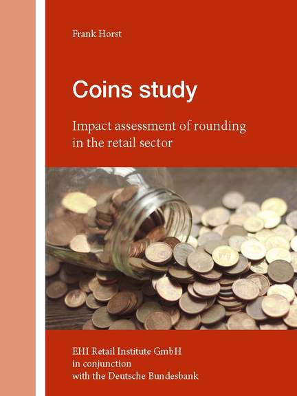 Cover: Coins study - Impact assessment of rounding in the retail sector