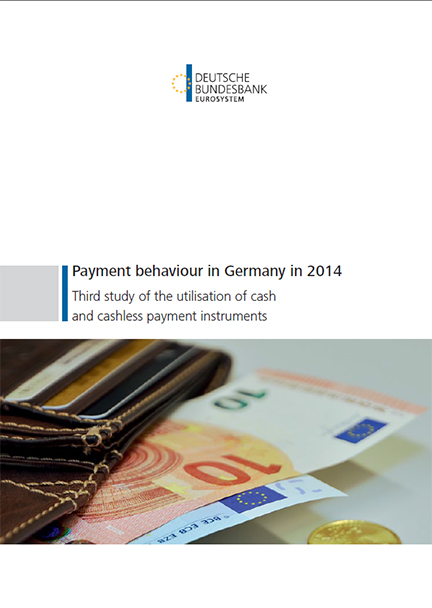 Cover: Payment behaviour in Germany in 2011
