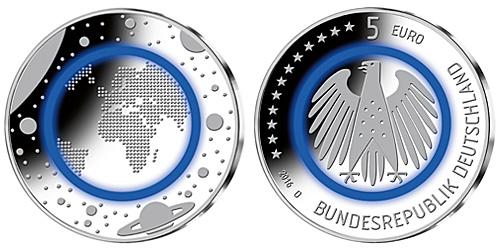Forte Demande En Pièces De Collection Allemandes De 5 Euros