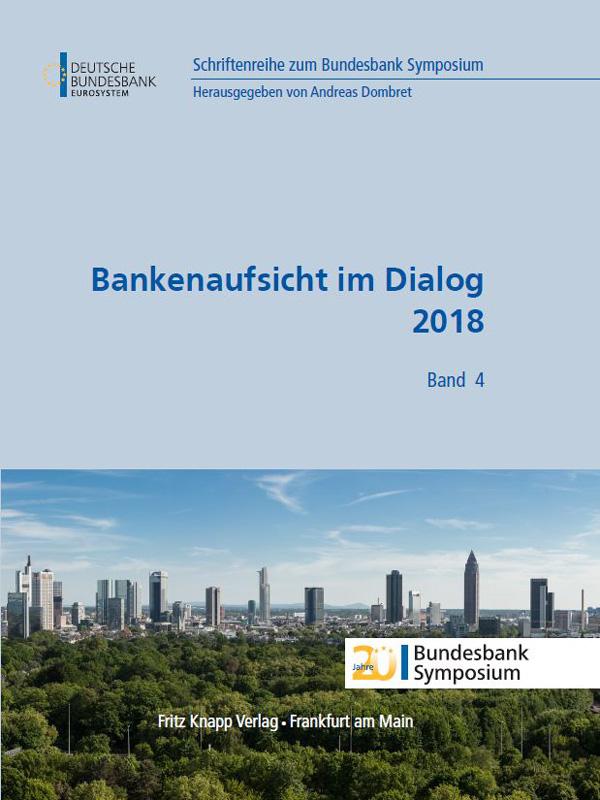 Cover des Buches Bankenaufsicht im Dialog 2018
