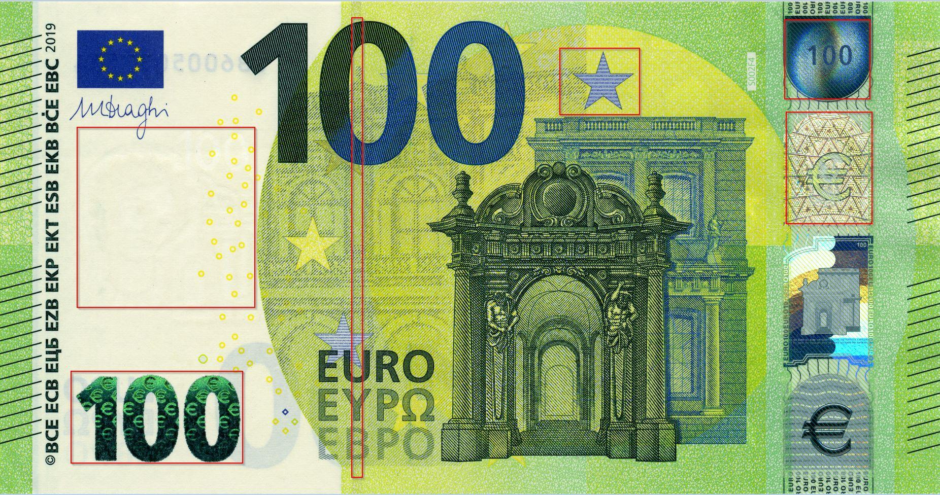 100 Euro Schein Druckvorlage / Der 100 Euro-Schein - EU