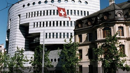 Bank for International Settlements in Basel at Aeschenplatz