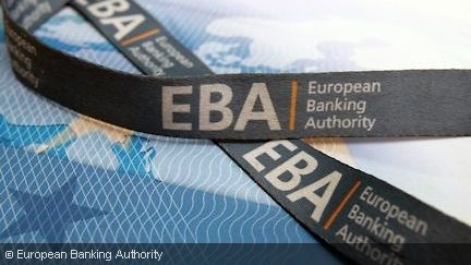 A belt with the imprint EBA - European Banking Authority