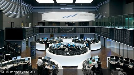 Trading floor of the Frankfurt Stock Market