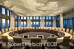 Boardroom of the Governing council of the ECB