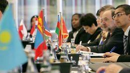 Teilnehmer eines der Kurse der Technischen Zentralbankkooperation
