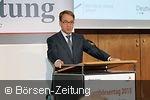 Jens Weidmann während seiner Rede auf dem Börsentag 2015