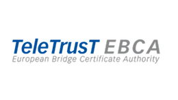 Figurative mark of the TeleTrusT European Bridge CA (EBCA)