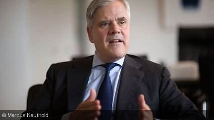 Andreas Dombret during a conversation