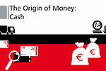 "Photo shows the start screen of the video ""The origin of money: cash"""
