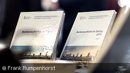 Two copies ot the Bundesbank symposium publication series