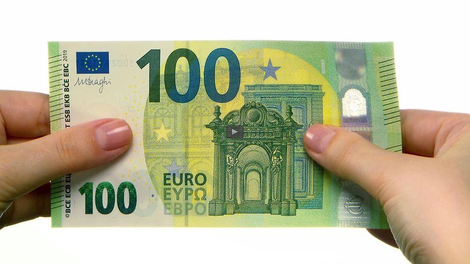 Der Neue 100 Euro Schein Deutsche Bundesbank
