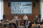 Jens Weidmann beantwortet Bürgerfragen am Tag der offenen Tür